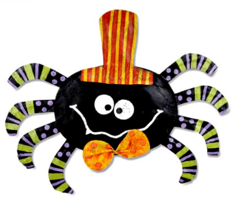 Spider with Top Hat Door Hanger