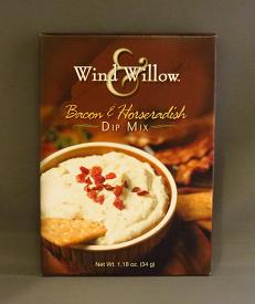 bacon horseradish
