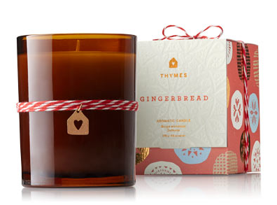 gingeerbread candle