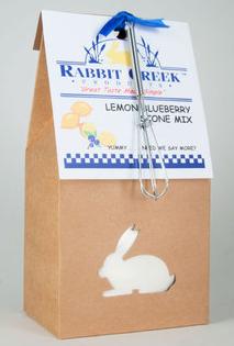 lemon blueberry scone mix
