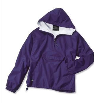lined classic purple