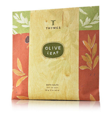 olive leaf bath salts