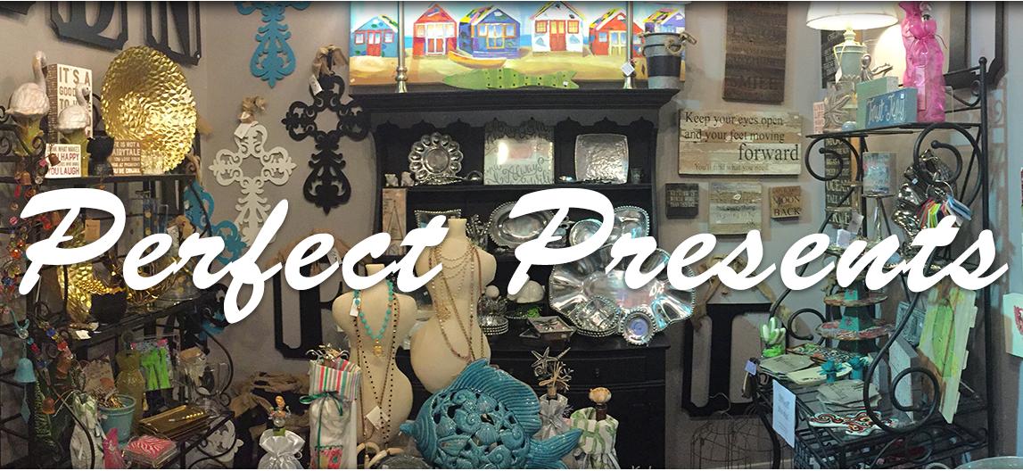 Perfect Presents Shoppe w/ Logo