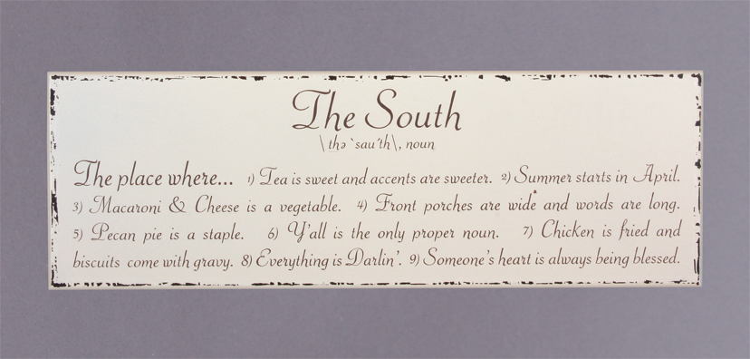The South - Noun