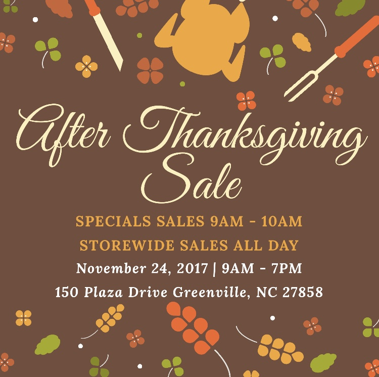 After Thanksgiving Sale