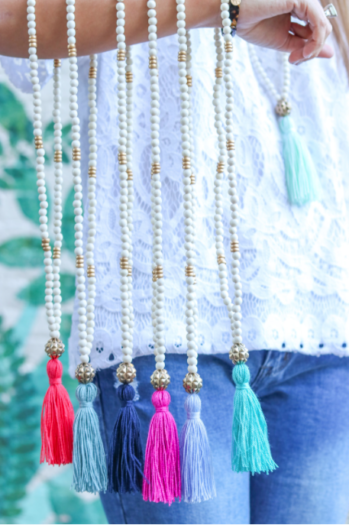 Tassel Necklaces for Chic Happens