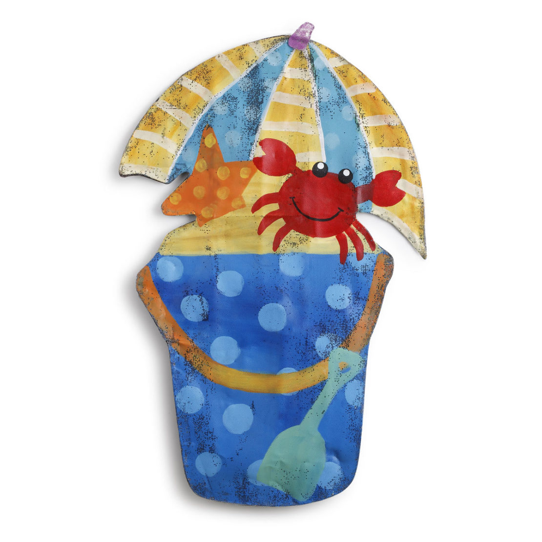 Beach Bucket Door Hanger