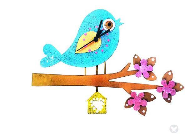 blue bird in branch