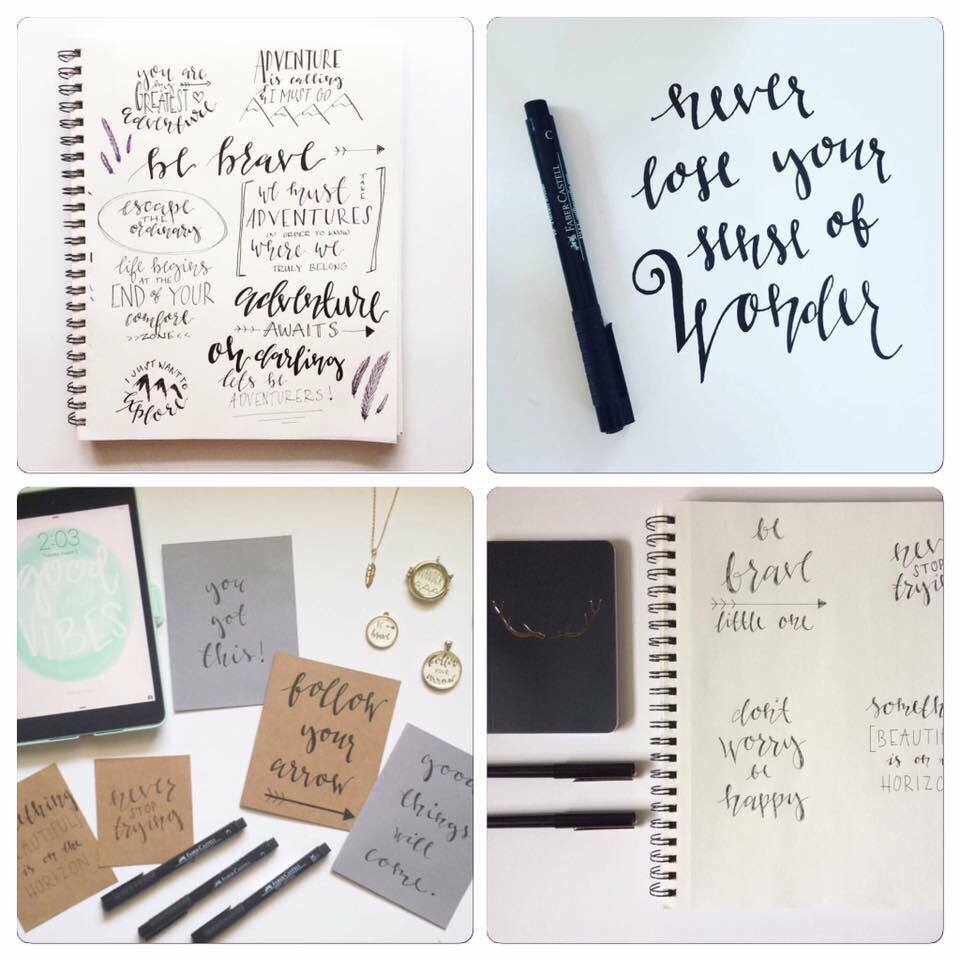 DIY Modern Calligraphy Crash Course