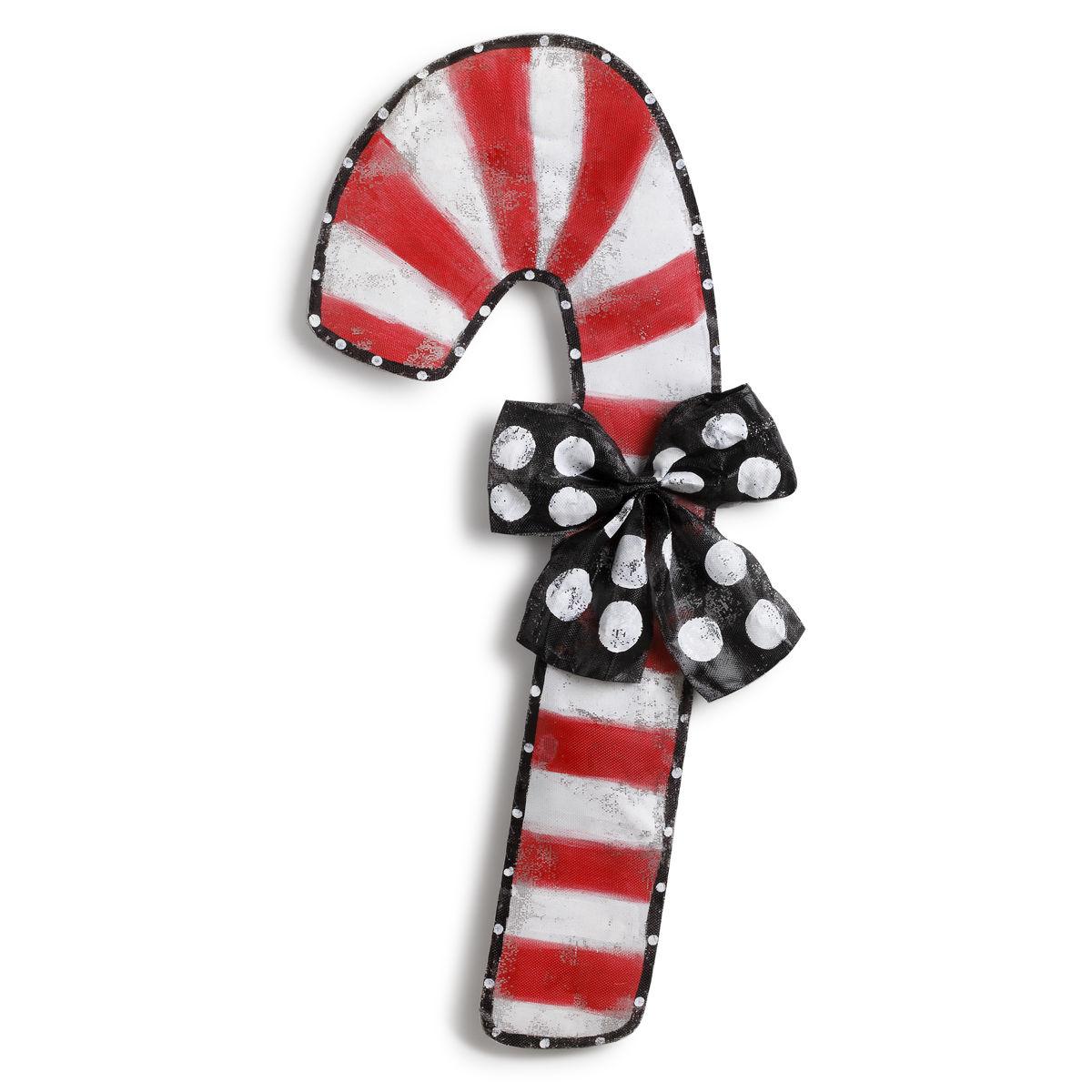Candy Cane Door Hanger Artisans Decorative Accessories