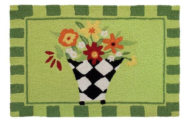 harlequin flower vase
