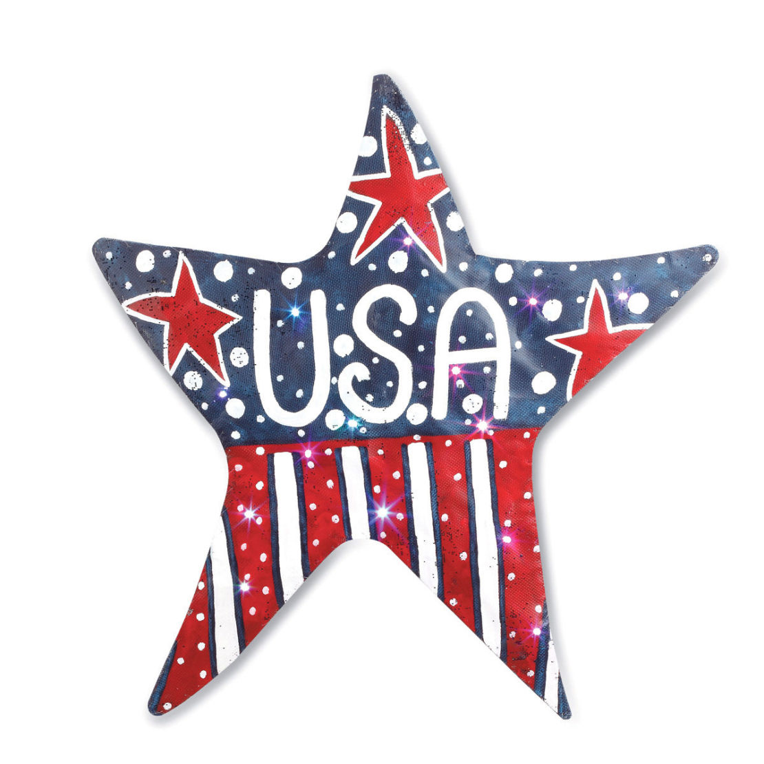 lit-usa-star-door-hanger