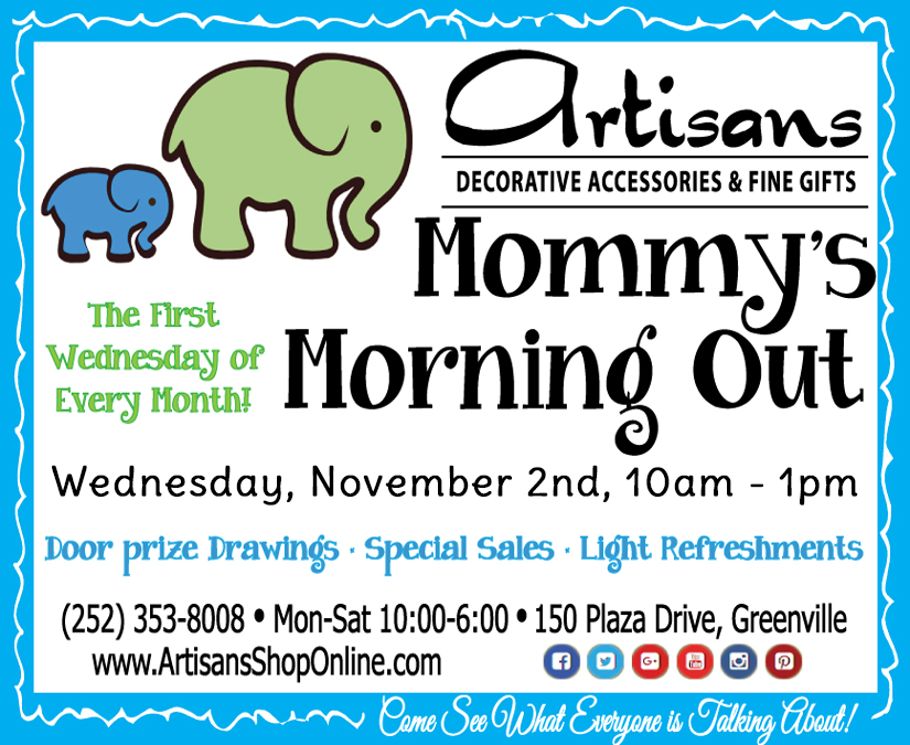 Mommy's Morning Out Flyer