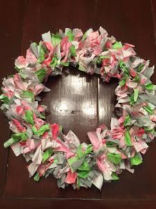 rag-wreath
