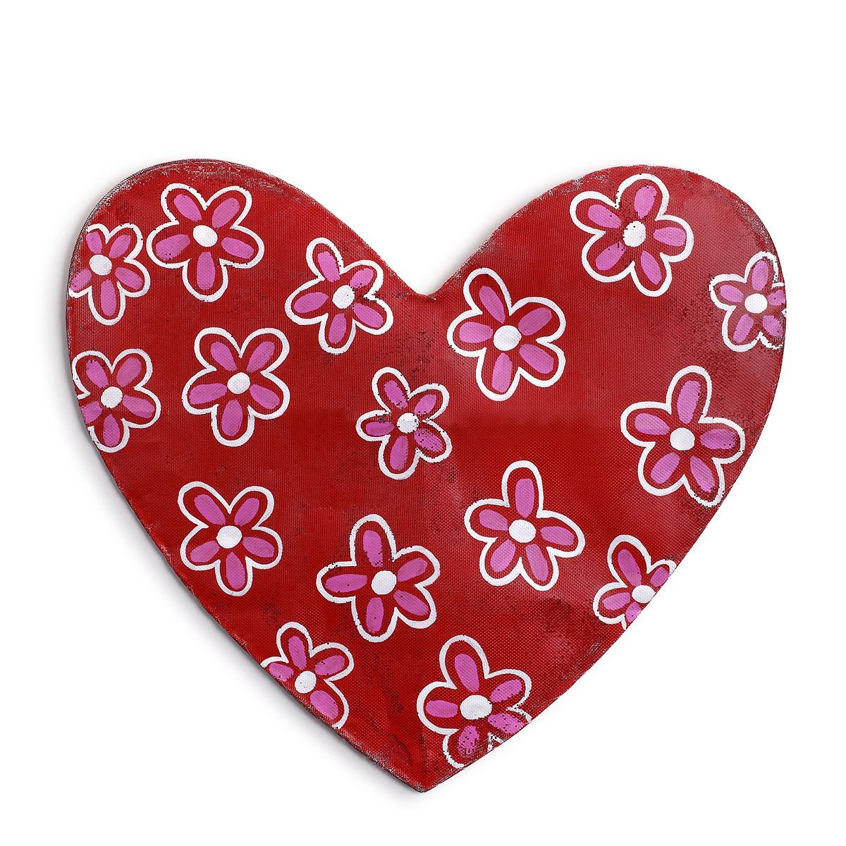 Seasonal Screenings Whimsy Hearts with Flower